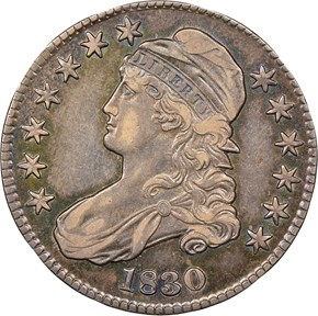 1830 50C MS obverse