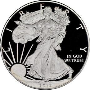 2012 S EAGLE SAN FRANCISCO EAGLE SET S$1 RP obverse