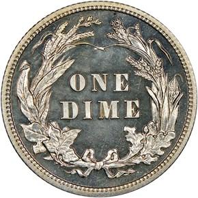 1914 10C PF reverse