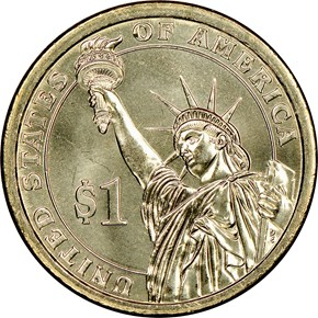 2007 D GEORGE WASHINGTON $1 MS reverse