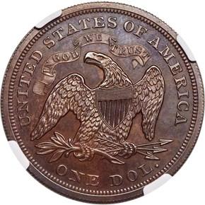 1863 J-346 S$1 PF reverse