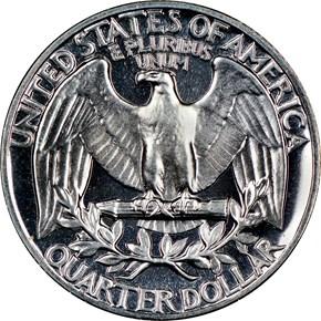1962 25C PF reverse