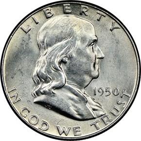 1950 50C MS obverse