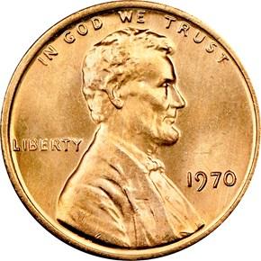 1970 1C MS obverse