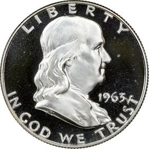 1963 50C PF obverse