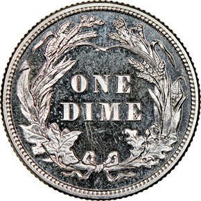 1913 10C PF reverse