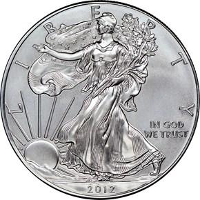 2012 EAGLE S$1 MS obverse