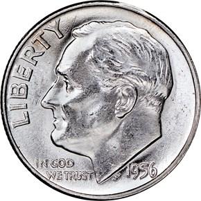 1956 10C MS obverse