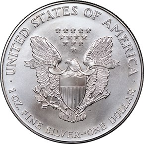 1995 EAGLE S$1 MS reverse