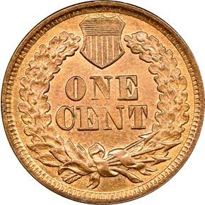 1867 1C MS reverse