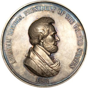 1862-DATED J-IP-38 AR ABRAHAM LINCOLN 76mm MS obverse