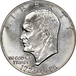 1776-1976 TYPE 1 $1 MS obverse