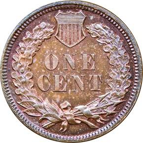 1881 1C PF reverse