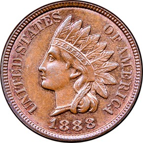 1888 1C MS obverse