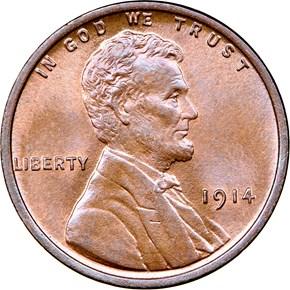 1914 1C MS obverse