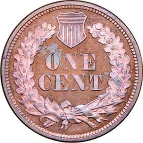 1863 J-299 1C PF reverse