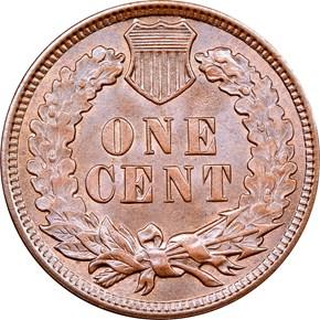 1909 INDIAN 1C MS reverse
