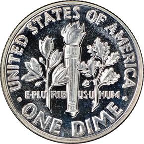1958 10C PF reverse