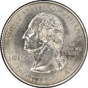 2005 P MINNESOTA 25C MS obverse