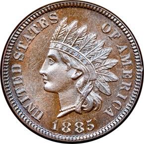 1885 1C PF obverse