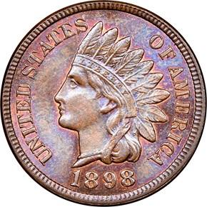 1898 1C MS obverse