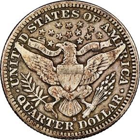 1901 S 25C MS reverse