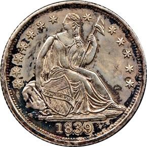 1839 H10C MS obverse