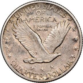 1917 TYPE 2 25C MS reverse