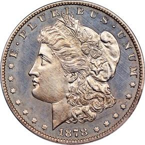 1878 7TF REV OF 78 $1 PF obverse