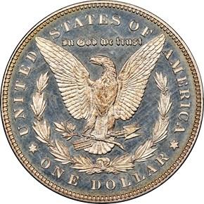 1878 7TF REV OF 78 $1 PF reverse