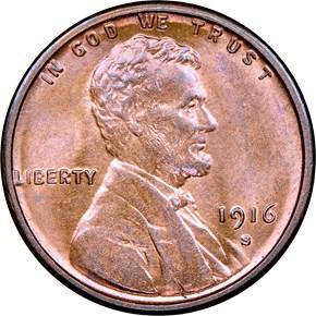 1916 S 1C MS obverse