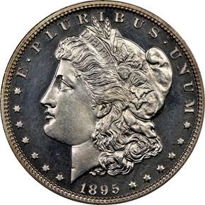1885 $1 PF obverse