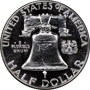 1960 50C PF reverse