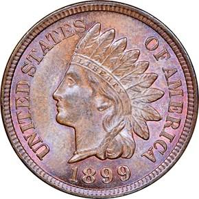 1899 1C MS obverse