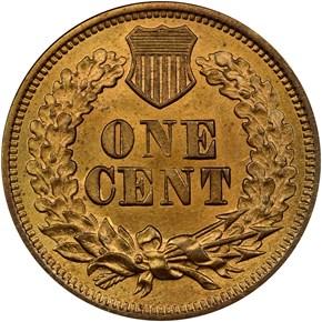 1868 1C MS reverse
