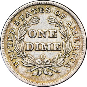 1839 O 10C MS reverse