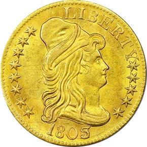 1803/2 $5 MS obverse