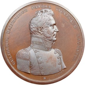 UNDATED J-NA-4, AE CAPT. WILLIAM BAINBRIDGE 65mm M obverse