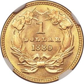1880 G$1 MS reverse