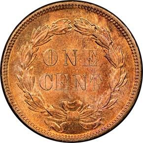 1859 1C MS reverse