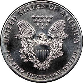 1986 EAGLE S$1 MS reverse