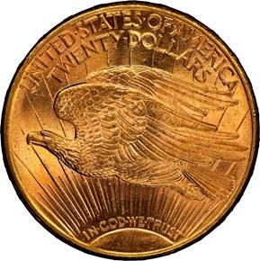 1909 S $20 MS reverse