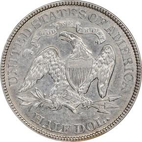 1881 50C MS reverse
