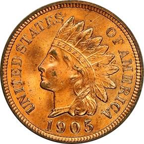 1905 1C MS obverse