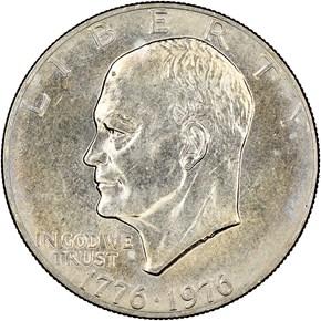 1776-1976 TYPE 2 $1 MS obverse