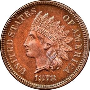 1878 1C PF obverse