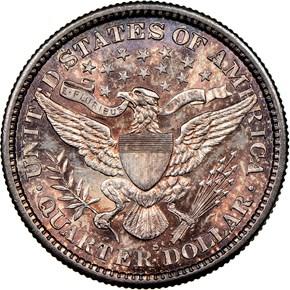 1894 S 25C MS reverse