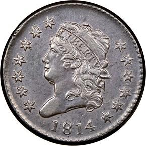 1814 1C MS obverse