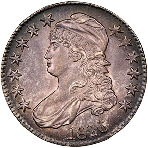 1826 50C MS obverse
