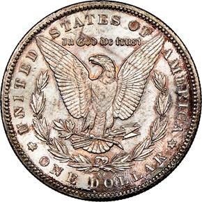 1893 CC $1 MS reverse
